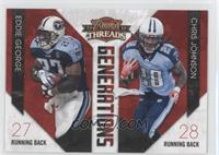 Chris Johnson, Eddie George