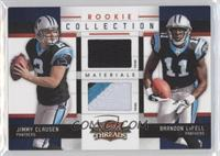Brandon LaFell, Jimmy Clausen /25