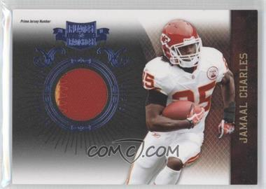 2010 Plates & Patches - [Base] - Infinity Jerseys Prime Jersey Number [Memorabilia] #47 - Jamaal Charles /50