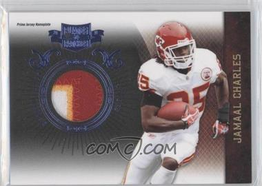 2010 Plates & Patches - [Base] - Infinity Jerseys Prime Nameplate [Memorabilia] #47 - Jamaal Charles /25