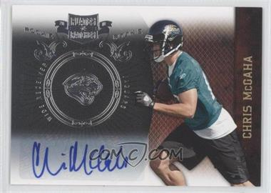 2010 Plates & Patches - [Base] - Infinity Silver Signatures [Autographed] #116 - Chris McGaha /50