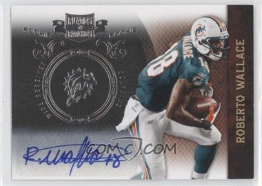 2010 Plates & Patches - [Base] - Infinity Silver Signatures [Autographed] #182 - Roberto Wallace /50