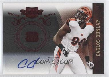 2010 Plates & Patches - [Base] #112 - Carlos Dunlap /99