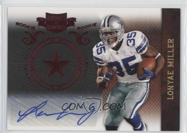 2010 Plates & Patches - [Base] #167 - Lonyae Miller /199