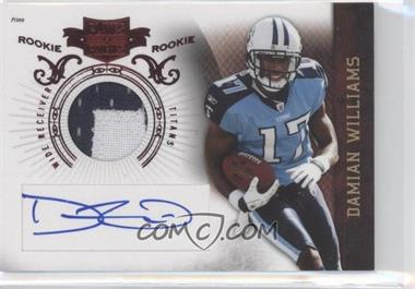 2010 Plates & Patches - [Base] #208 - Damian Williams /699