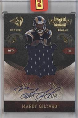 2010 Plates & Patches - RPS Rookie Jumbo - Signatures [Autographed] #29 - Mardy Gilyard /10