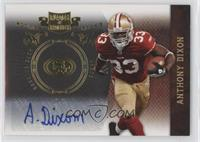 Anthony Dixon /25