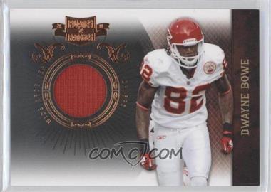 2010 Plates & Patches Infinity Jerseys [Memorabilia] #46 - Dwayne Bowe /299