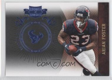 2010 Plates & Patches Infinity Platinum #38 - Arian Foster /10