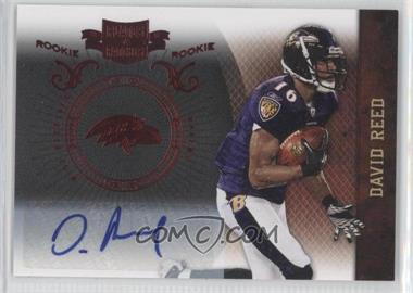 2010 Plates & Patches #124 - David Reed /249