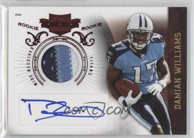 2010 Plates & Patches #208 - Damian Williams /699