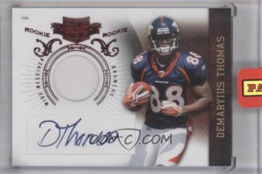 2010 Plates & Patches #209 - Demaryius Thomas /699