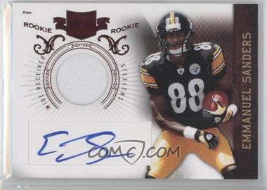 2010 Plates & Patches #212 - Emmanuel Sanders /699