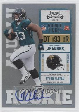 2010 Playoff Contenders - [Base] #198 - Tyson Alualu /190