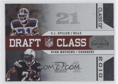 2010 Playoff Contenders - Draft Class #2 - C.J. Spiller, Ryan Mathews