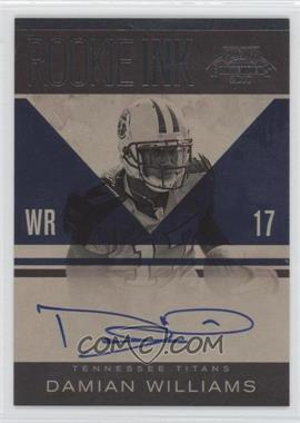 2010 Playoff Contenders - Rookie Ink #26 - Damian Williams