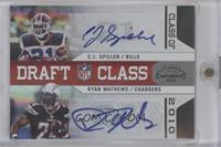 C.J. Spiller, Ryan Mathews /10