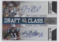 Brandon LaFell, Jimmy Clausen /10
