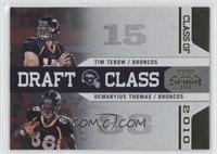 Demaryius Thomas, Tim Tebow /100