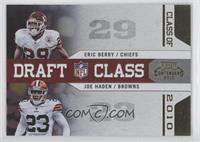 Joe Haden, Eric Berry /100