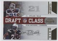 C.J. Spiller, Ryan Mathews /100