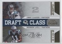 Brandon LaFell, Jimmy Clausen /100