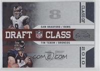 Tim Tebow, Sam Bradford