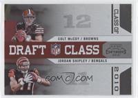 Colt McCoy, Jordan Shipley