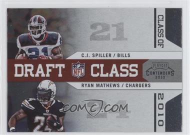 2010 Playoff Contenders Draft Class #2 - C.J. Spiller, Ryan Mathews
