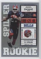 C.J. Spiller (Blue Jersey) /99