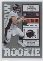 Tim Tebow White Jersey /99