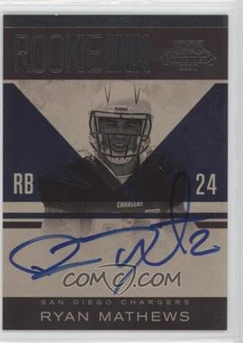 2010 Playoff Contenders Rookie Ink #20 - Ryan Mathews