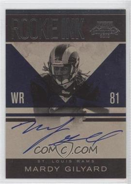 2010 Playoff Contenders Rookie Ink #21 - Mardy Gilyard