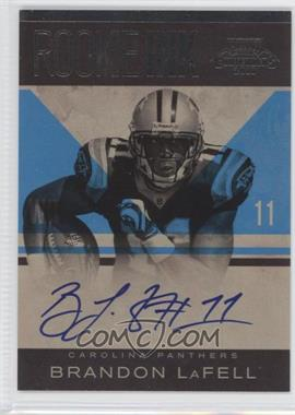2010 Playoff Contenders Rookie Ink #8 - Brandon LaFell