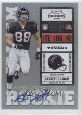 2010 Playoff Contenders #140 - Garrett Graham