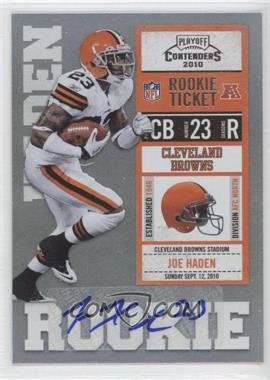 2010 Playoff Contenders #152 - Joe Haden
