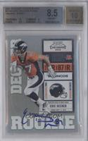 Eric Decker (Ornage Jersey) /492 [BGS 8.5]