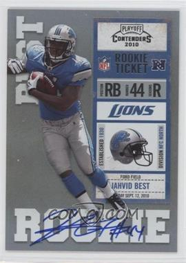2010 Playoff Contenders #217.2 - Jahvid Best (Blue Jersey)
