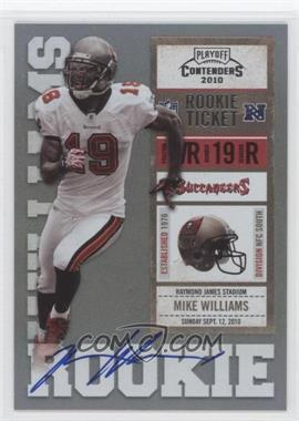 2010 Playoff Contenders #226.1 - Mike Williams (White Jersey)