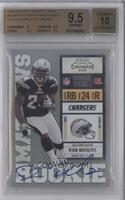 Ryan Mathews (Blue/White Gloves) /300 [BGS 9.5]