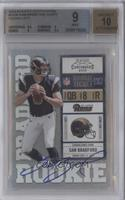 Sam Bradford (Both Hands on Ball) /377 [BGS 9]