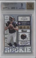 Sam Bradford Both Hands on Ball [BGS 9]