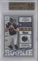 Sam Bradford (Both Hands on Ball) /377 [BGS 9.5]