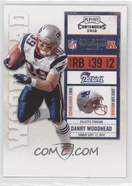 2010 Playoff Contenders #56 - Danny Woodhead