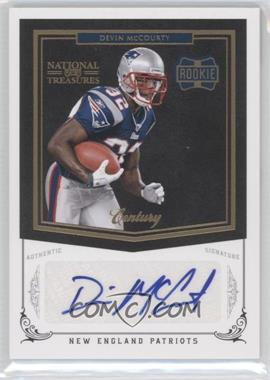2010 Playoff National Treasures - [Base] - Century Gold Signatures [Autographed] #228 - Devin McCourty /25