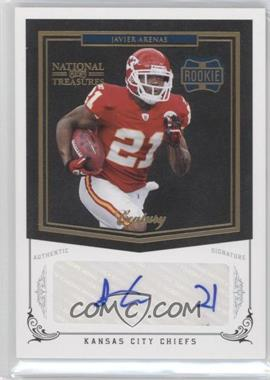 2010 Playoff National Treasures - [Base] - Century Gold Signatures [Autographed] #246 - Javier Arenas /25
