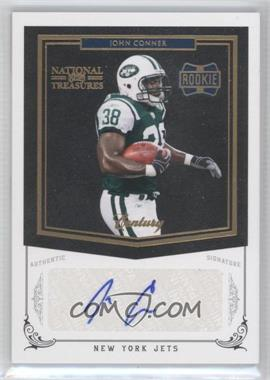 2010 Playoff National Treasures - [Base] - Century Gold Signatures [Autographed] #254 - John Conner /25
