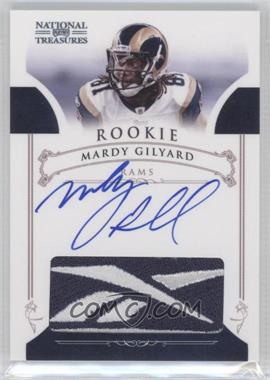 2010 Playoff National Treasures - Rookie Brand Logos Signatures #3 - Mardy Gilyard /10