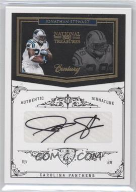2010 Playoff National Treasures Century Gold Signatures [Autographed] #22 - Jonathan Stewart /25