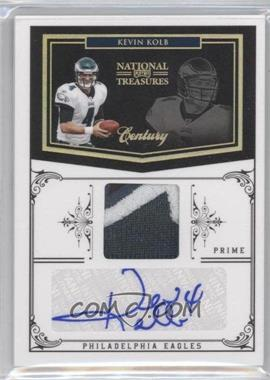 2010 Playoff National Treasures Century Signature Materials Prime [Autographed] [Memorabilia] #113 - Kevin Kolb /20